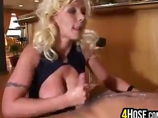 Blonde European MILF Getting Fucked