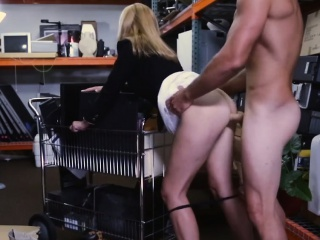 Hot Tow-haired MILF Fucks be incumbent on Money at Pawn Disloyal to