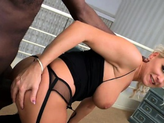 Glam euro interracial lover in anal opportunity