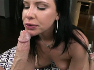 Renowned pest whore Katie St Ives takes a big cock in the matter of her pussy