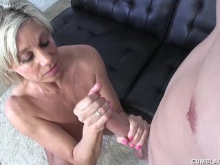 Broad in the beam Cock And Huge Cumshot