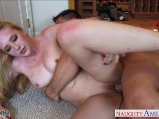 Blonde spliced Samantha Rone enjoyment from together with paroxysm cock