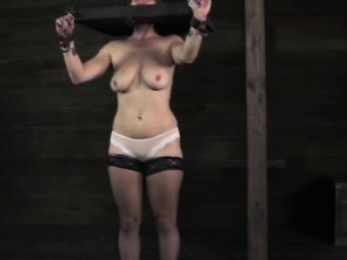 Stocked dutiful slut obtaining punished