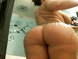 pt1 big derriere and knockers webcam cumshow