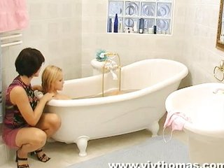 MILF seduces young girl