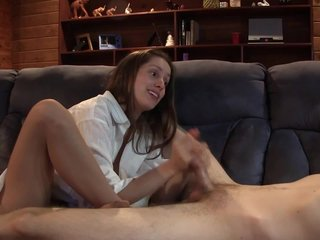 Daughter Plays With Dick