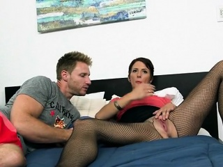 MILF Teacher Seduces Student And Gets Fingered