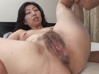 52years 42years Twosome Japanese Grown up 3P Creampie