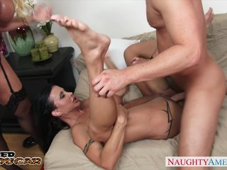 Chesty cougars Alura Jenson increased by Jewels Jade